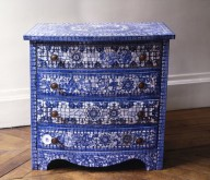 Commode Bleue
